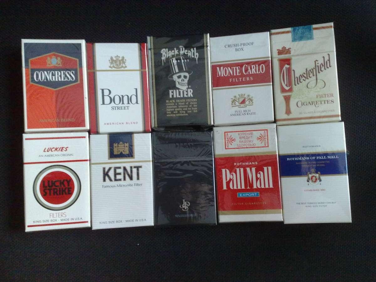 Американские сигареты фото проект