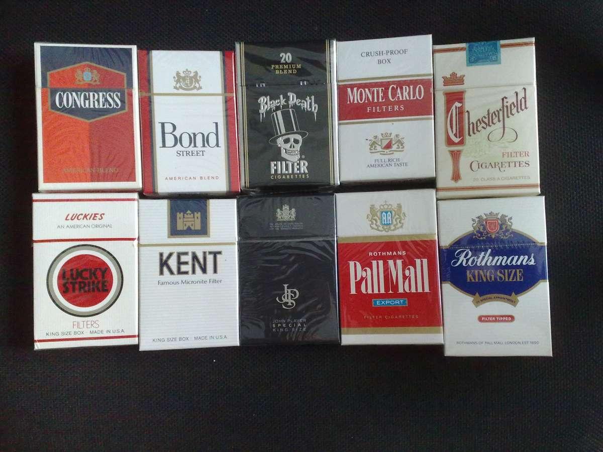 Американские и европейские сигареты Duty Free в Москве
