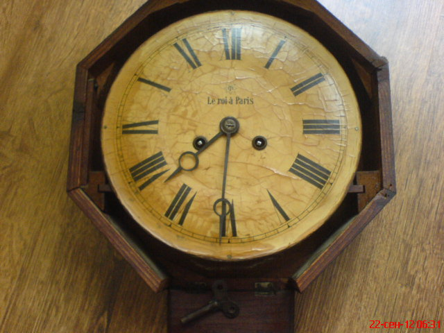 Le roi a paris часы настенные ремонт своими руками