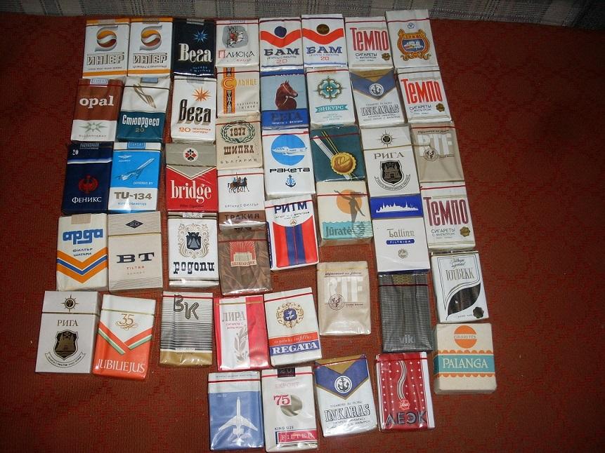 Куплю коллекцию пачек сигарет купить электронную сигарету его в украине