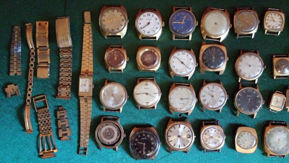 От сдать желтые часов корпуса швейцарские у часы продам б