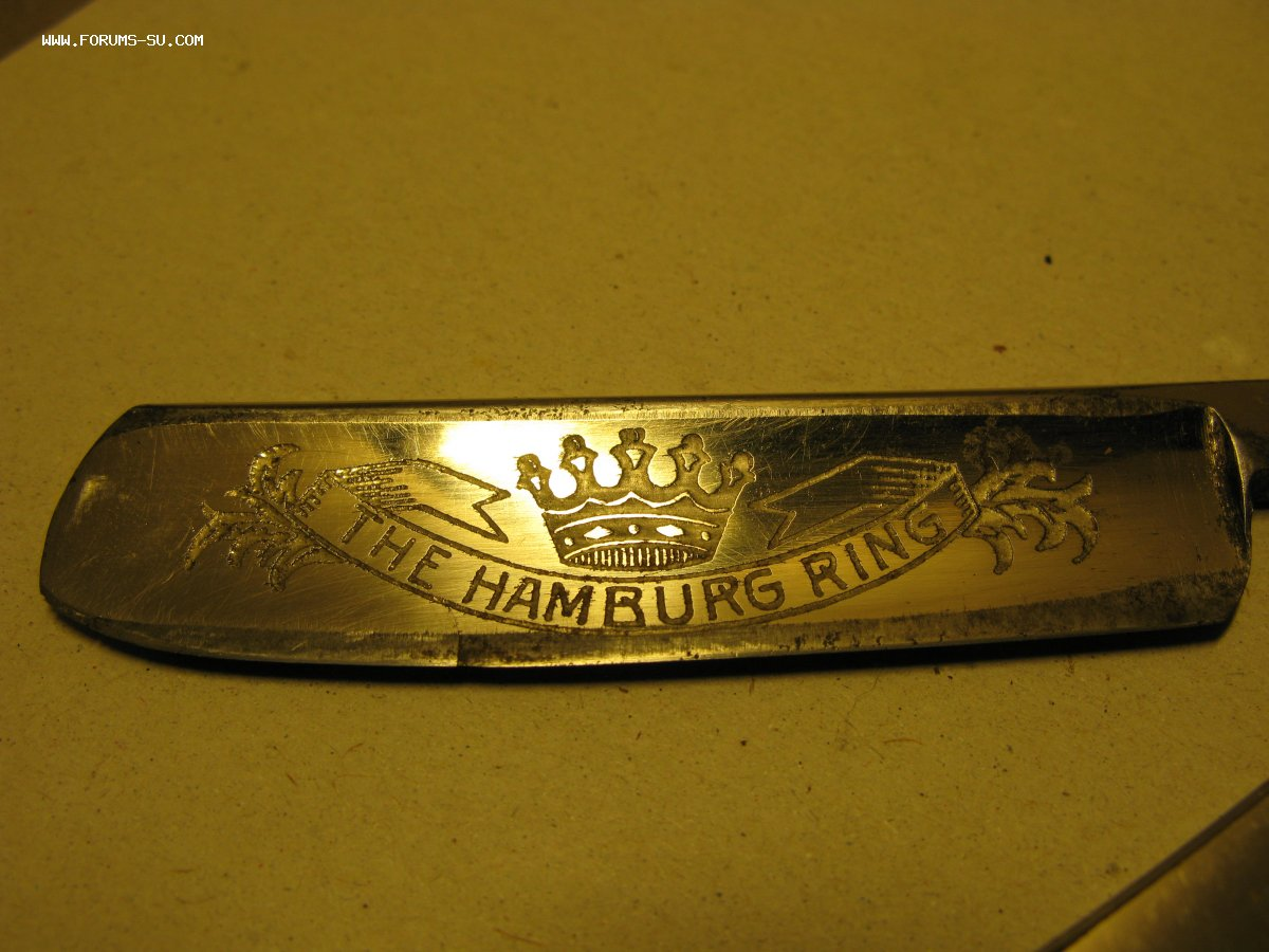 Опасная бритва Золинген Solingen The Hamburg Ring в футляре