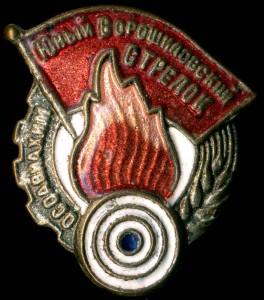 юнный Ворошиловский стрелок