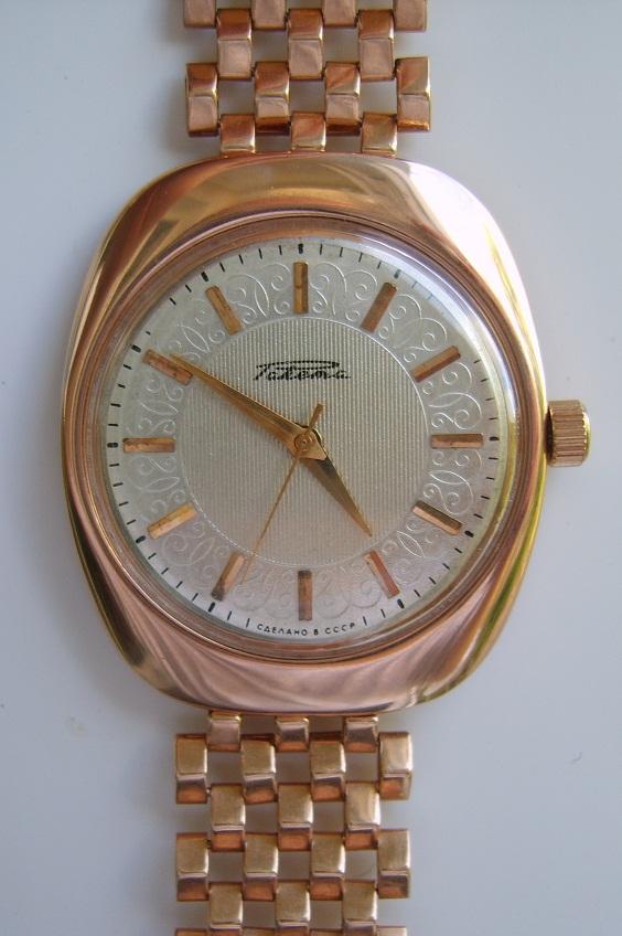 часовые браслеты золотые